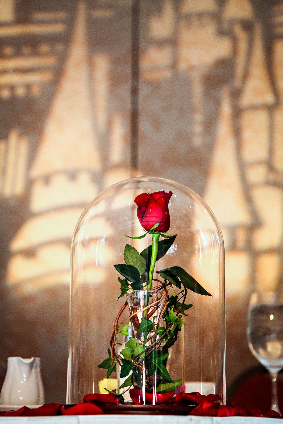 disney die rose und das biest tischdeko zum verlieben. Black Bedroom Furniture Sets. Home Design Ideas