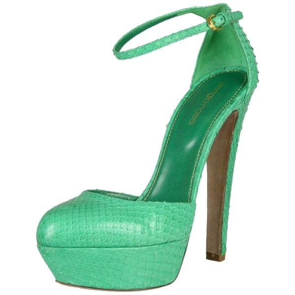 Pre-owned - Python heels Sergio Rossi pmj3m