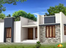 Single storied flat roof house less than sqft also lakhs cost estimated bhk home design rh pinterest