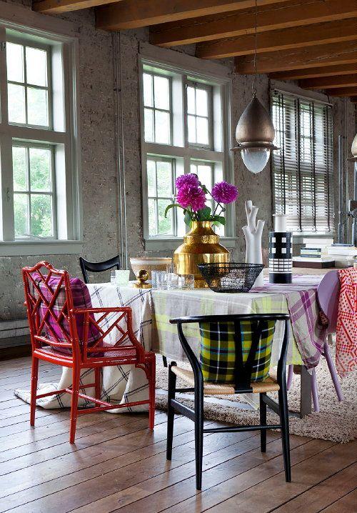 winter woontrend 2013 2014 tartan twist mode interieur met ruiten in meubels en. Black Bedroom Furniture Sets. Home Design Ideas