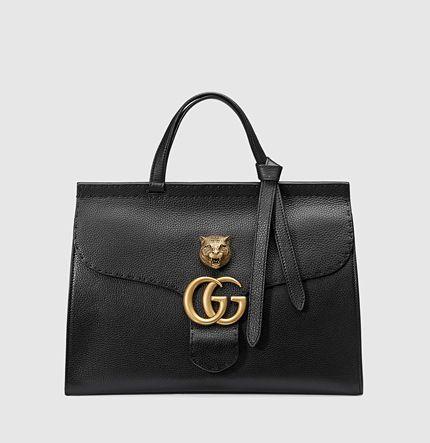 Gucci Bolsa a Mano GG Marmont in Pelle
