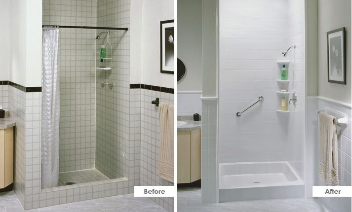 Replacement Showers With Both Function And Style From Start To Finish Let Bath Fitter Handle Your Entire Sh Bath Fitter Clean Shower Doors Bathrooms Remodel