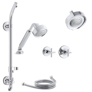 Kohler K Purist Ms21hr 3e Shower Systems Shower Heads Shower Set