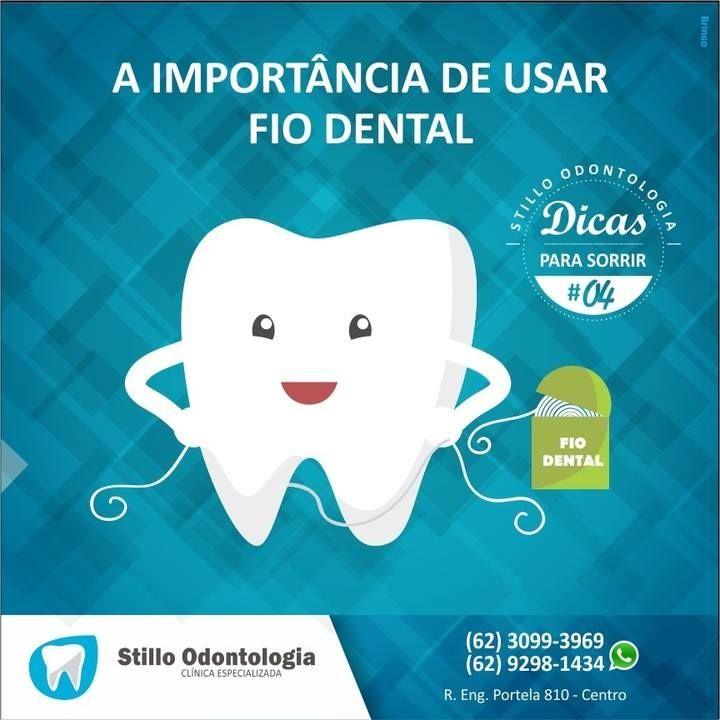 e4a078c88 A IMPORTÂNCIA DE USAR FIO DENTAL Para ter um sorriso lindo e perfeito é  muito importante