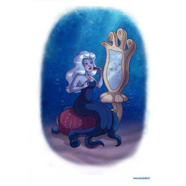 Little Mermaid Home Decor Part - 49: Ursula By Pernille Ørum ||| Disneyu0027s The Little Mermaid, Sea Witch,.