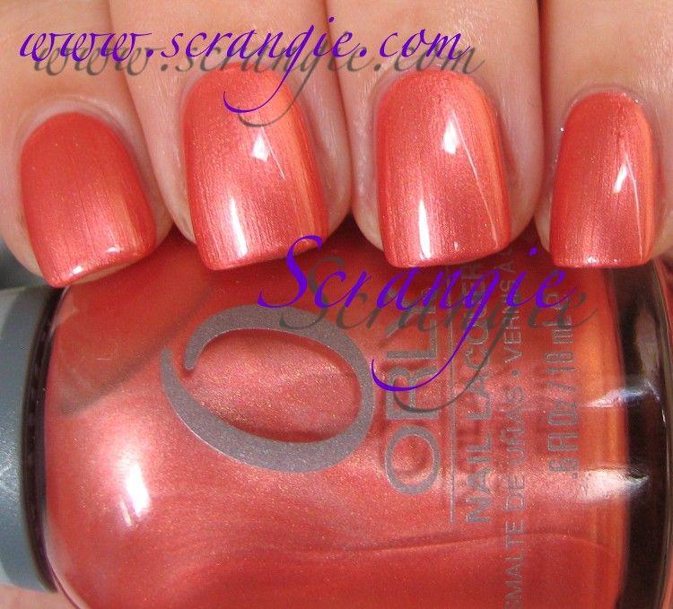 Scrangie Orly Nail Polish Nails My Nails