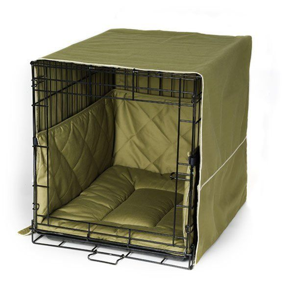 Front Door Crate Covers From Radiofence Com Turns Any Ordinary Dog