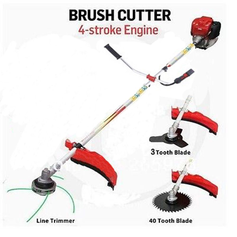 Professional garden tool GX35 Engine Grass Trimmer 35.8cc Brush Cutter 4 STROKES gasoline cutter