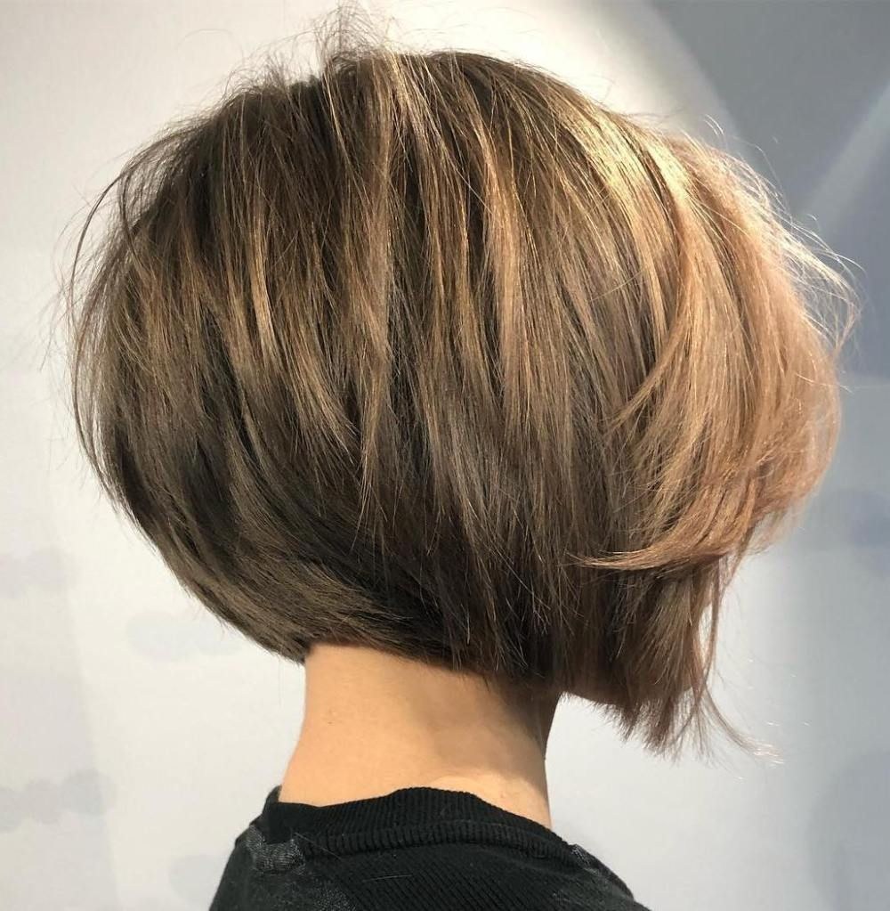 The Full Stack: 50 Hottest Stacked Haircuts | Thick hair styles, Short hairstyles  for thick hair, Straight bob haircut