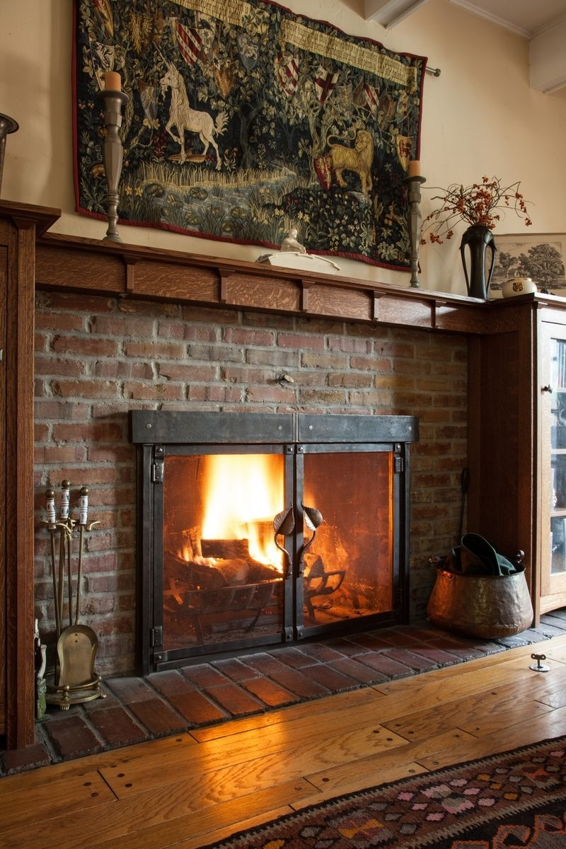Craftsman style fireplace screen - Find This Pin And More On Fireplace Screen