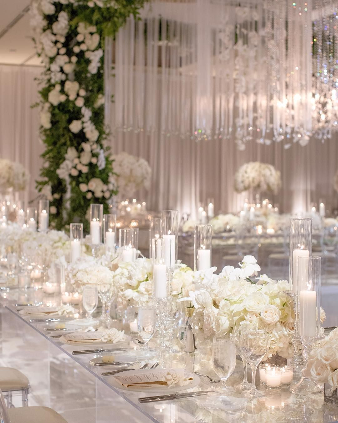 "White Luxury Wedding Decor With Wonderful And Beautiful: Whitelilacinc On Instagram: ""You're So Pretty The Way You"