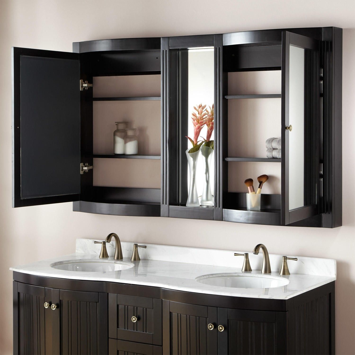 "Bathroom Medicine Cabinet Ideas: 60"" Palmetto Medicine Cabinet In 2019"
