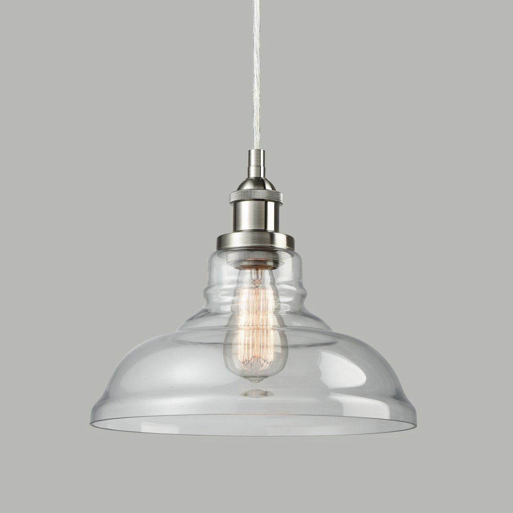 CLAXY Ecopower Industrial Edison Vintage Style 1-Light Brushed ...