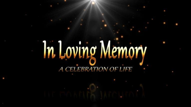 memorial presentation introduction for funeral tribute | dvd, Funeral Presentation Template, Presentation templates
