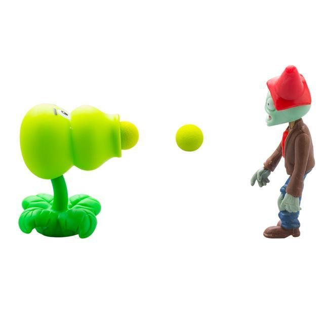 Hot Sale PVZ Plants vs Zombies Game Toys Popular PVC Toys Model Toy Children's Christmas New Year Brinquedos Gift