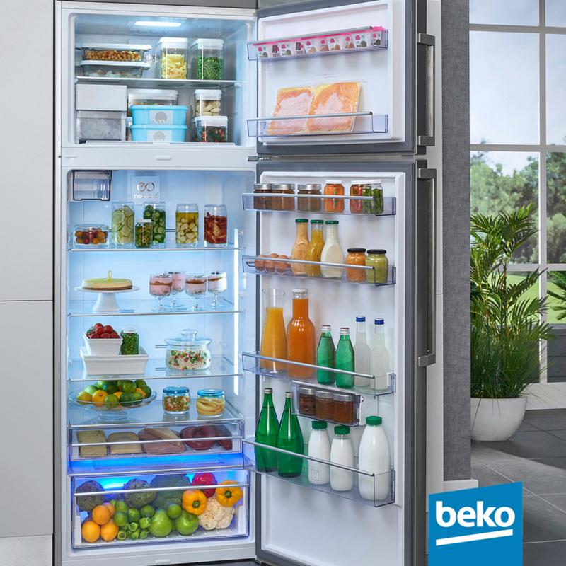 Refrigeration Home Appliances Beko Big Fridge Refrigerator