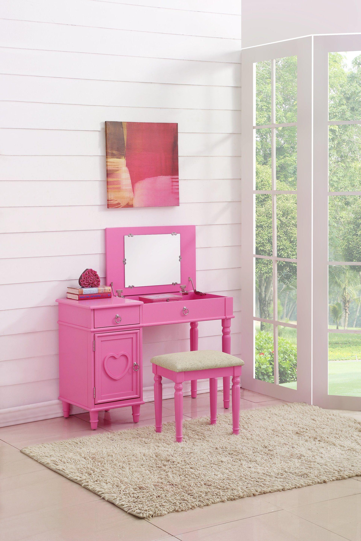 Little miss diva vanity set | Little Girl Bedroom Furniture | Vanity ...