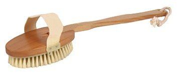 Amazon.com: Bath Brush-100% Pure Boar Bristle with Detachable Long Handle Bath Back Brush,Deep Clean Your Skin While Shower and Reach Your Back Easily.Detachable Head Can Provide you Easy To Hold for Your Front Body.Beautiful Wooden handle w/Cotton Rope to Hang on The Wall.Size: 3 x 16.5 Long Handle.: Beauty
