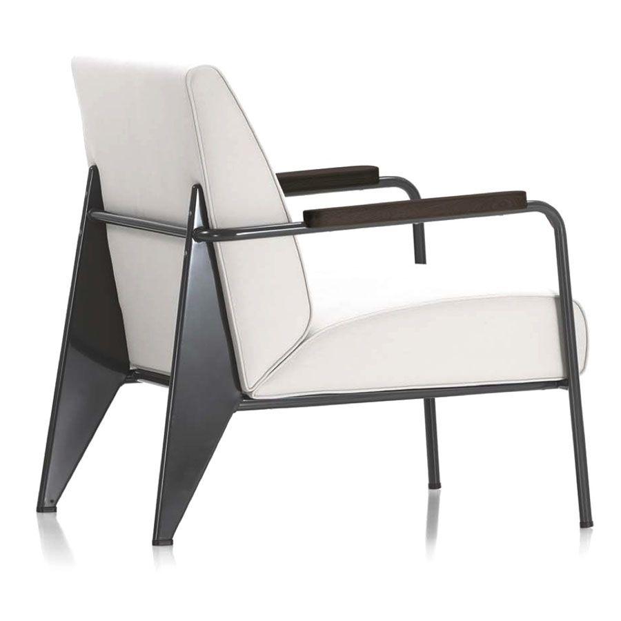 Modern Design Fauteuil.Fauteuil De Salon Jean Prouve Modern French Living Room Chair