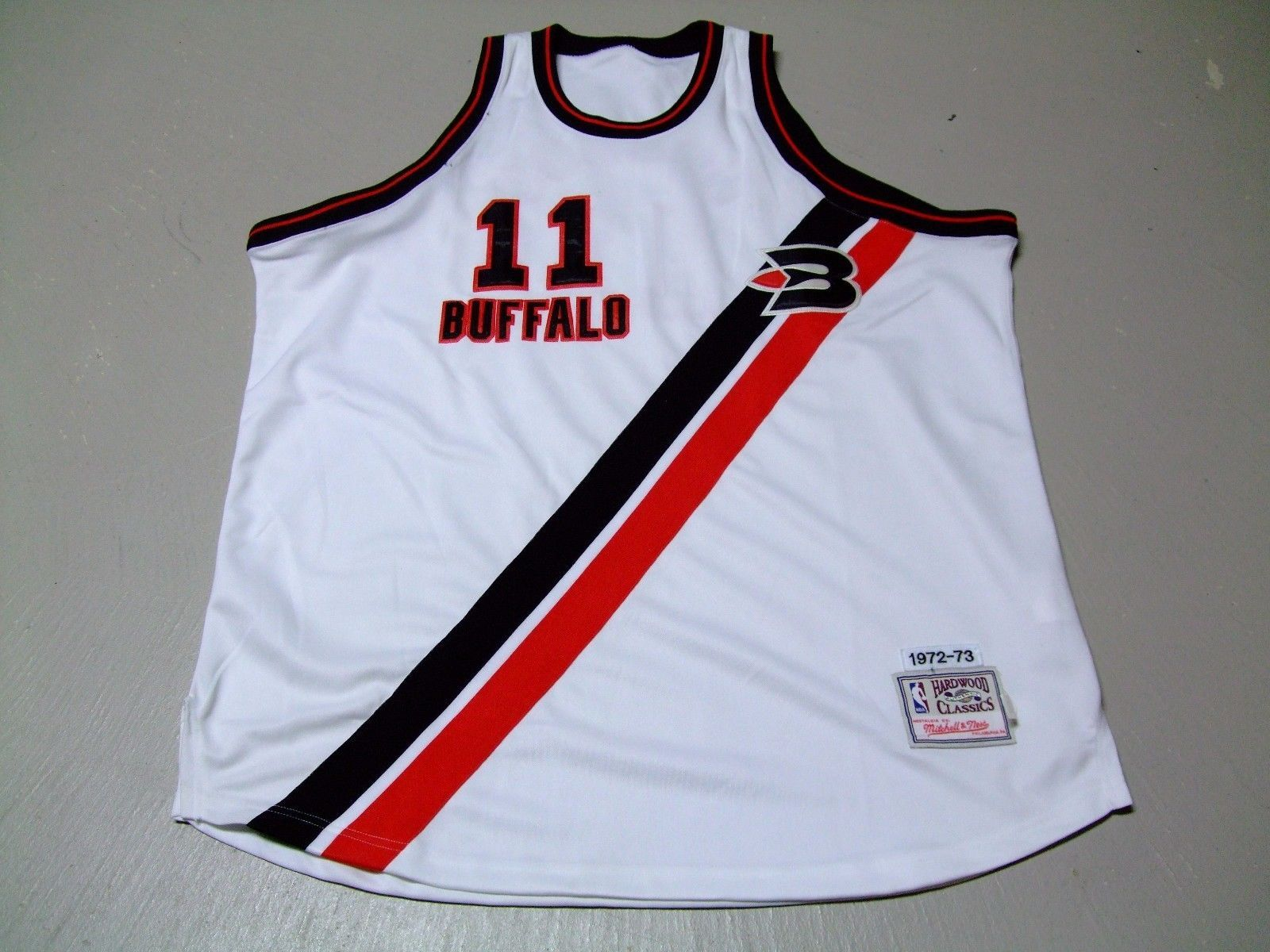 Vtg Nba Mitchell Ness Buffalo Braves Bob Allen Mcadoo Stitched Jersey Size 52 Jersey Fashion Mitchell Ness