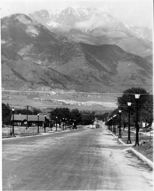 Pikes Peak In Colorado Springs: Colorado Springs History