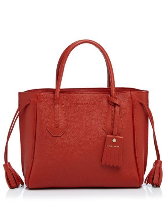 Longchamp Small Penelope Leather Tote Longchamp - Handbags ...