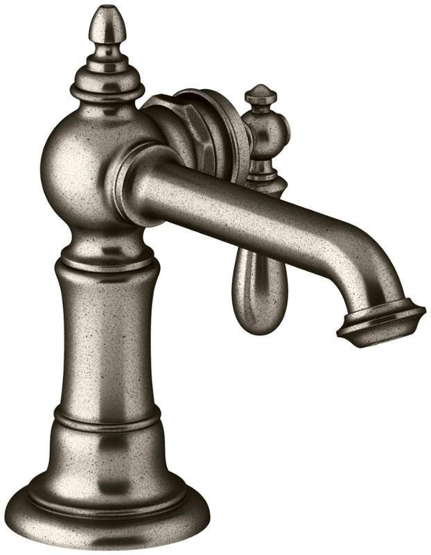 Buy the Kohler K-72762-9M-VNT Vintage Nickel Direct. Shop for the Kohler K-72762-9M-VNT Vintage Nickel Artifacts Single Hole Bathroom Faucet - Free Metal Touch Activated Drain Assembly with purchase and save.