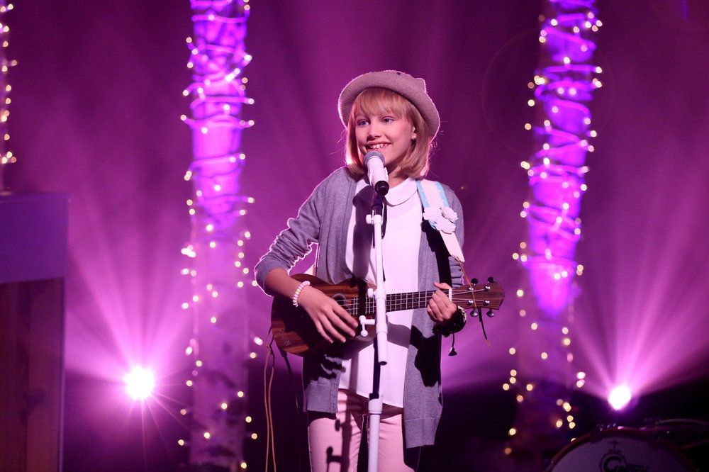 Americas Got Talent: 13-Year Old Delivers Soulful, Golden