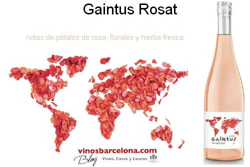 Gaintus Rosat, delicado y floral