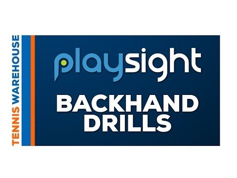 How To Improve Your Backhand with Playsight Court Technology - Tennis Warehouse YouTube