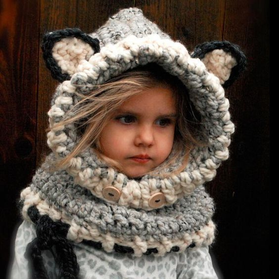 Cat Ears Beanie and Scarf Set
