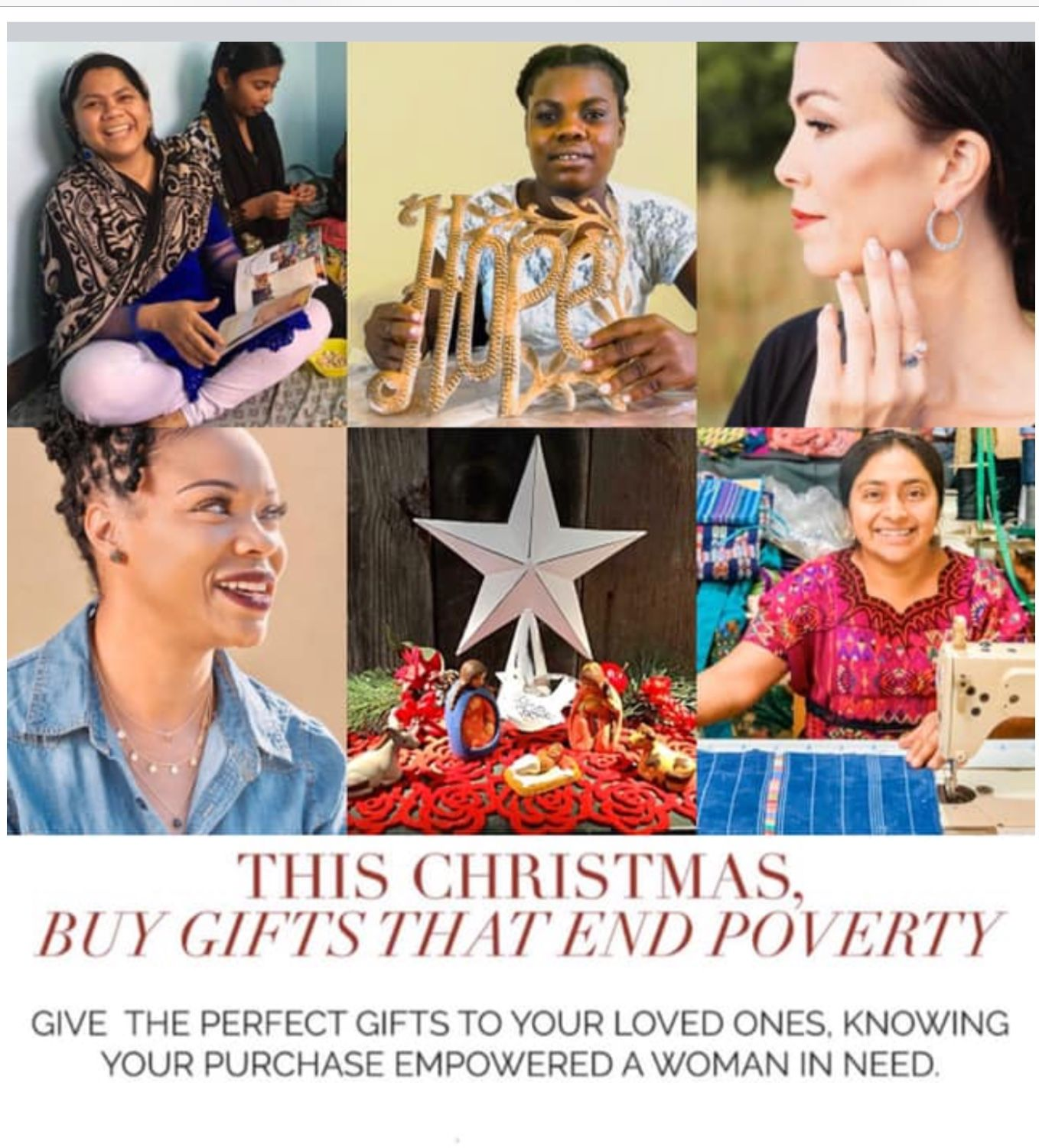 Give gifts that give back fair trade jewelry trend