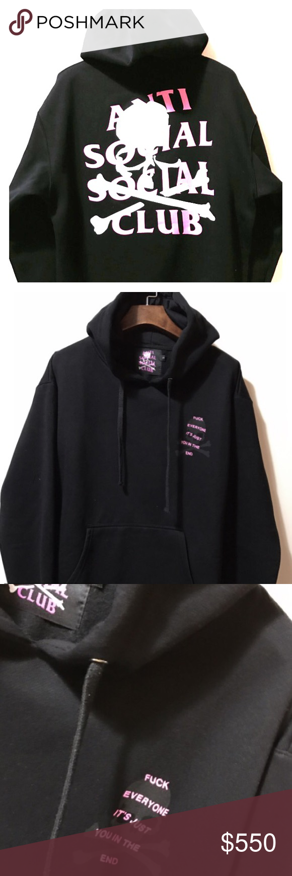 5b1cfc0a462f Anti Social Social Club x Mastermind Japan Hoodie I Bought this IN PERSON  at the LA Pop Up Shop on 12 8 on La Brea Ave. will provide copy of receipt  with ...