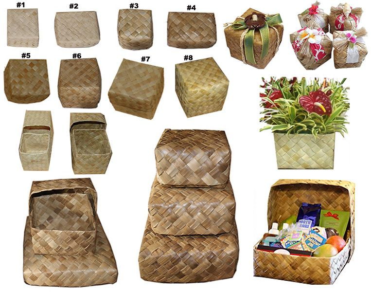 Lauhala Pandanus Envelopes Set of 2