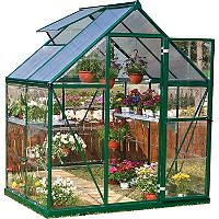 Palram Nature Hybrid 6' x 4' Greenhouse - Green - Sam's Club