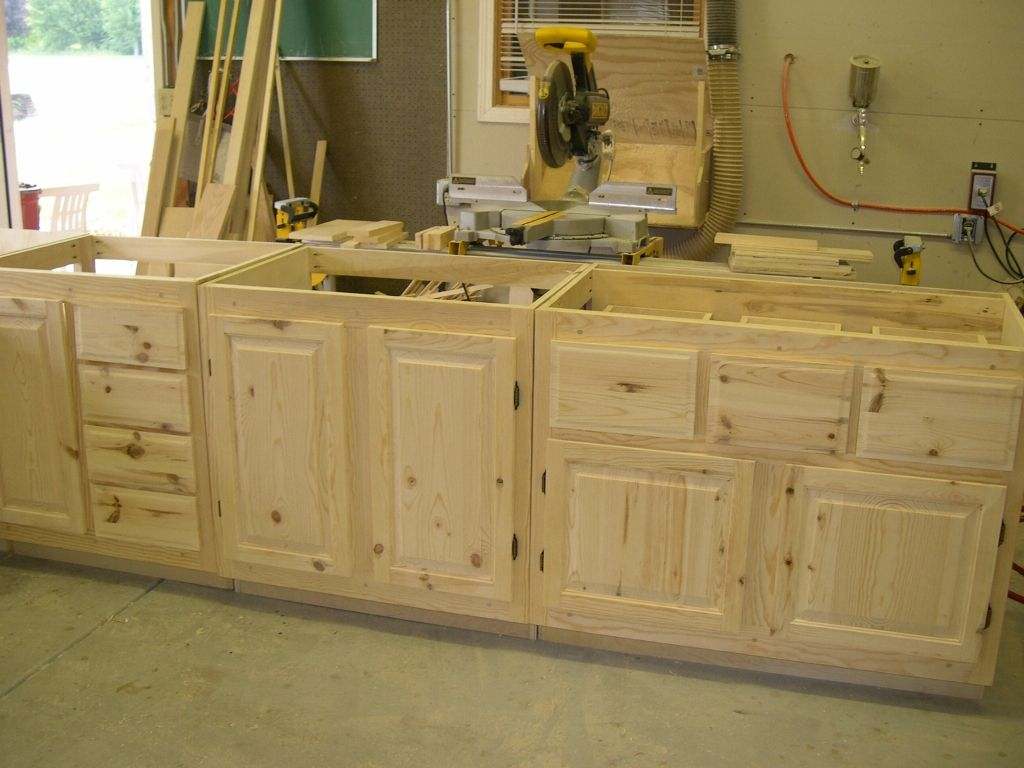 Unfinished Knotty Pine Kitchen Cabinets Desain Patio