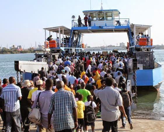 Ferry Mv Kigamboni Dar Es Salaam Magazeti Ya Leo Tanzania