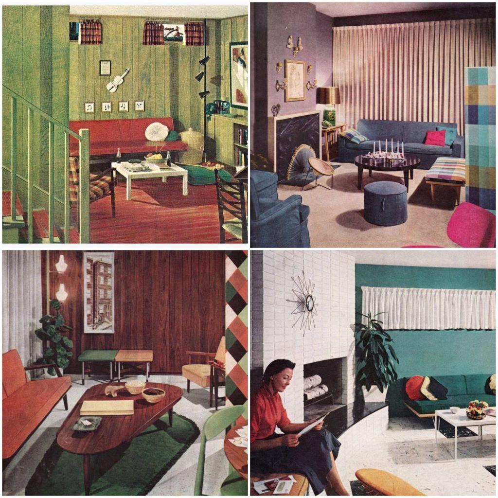 41 Vintage Home Decor 1950s Furniture Https Silahsilah Com Furniture 41 Vintage Home Decor 1950s Furniture 1950s Home Decor 1950s Living Room Bedroom Decor