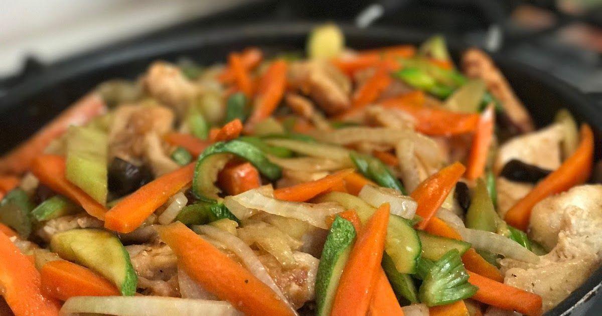 receta de chop suey chino en salsa