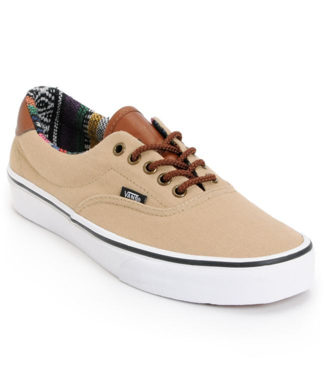 Vans Era 59 Khaki   Guate Canvas Shoe  b850881f6