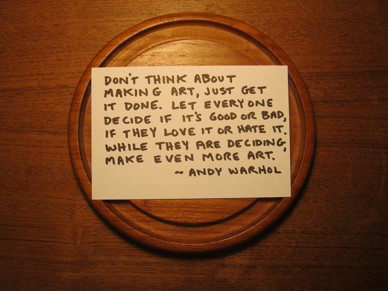 Andy Warhol Quotes Cute Andy Warhol Quotesquotesgram  Inspiration Inspiring Stuff