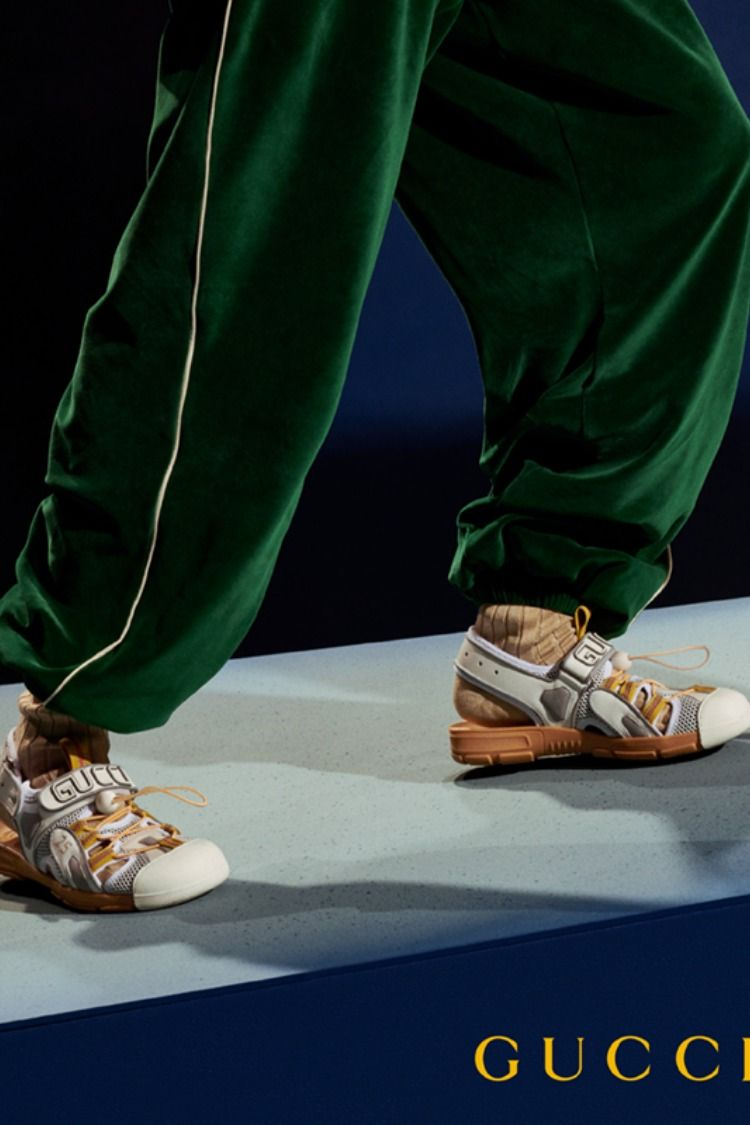 Gucci Ss19 Mens Leather Sandals Gucci Fashion Leather Men