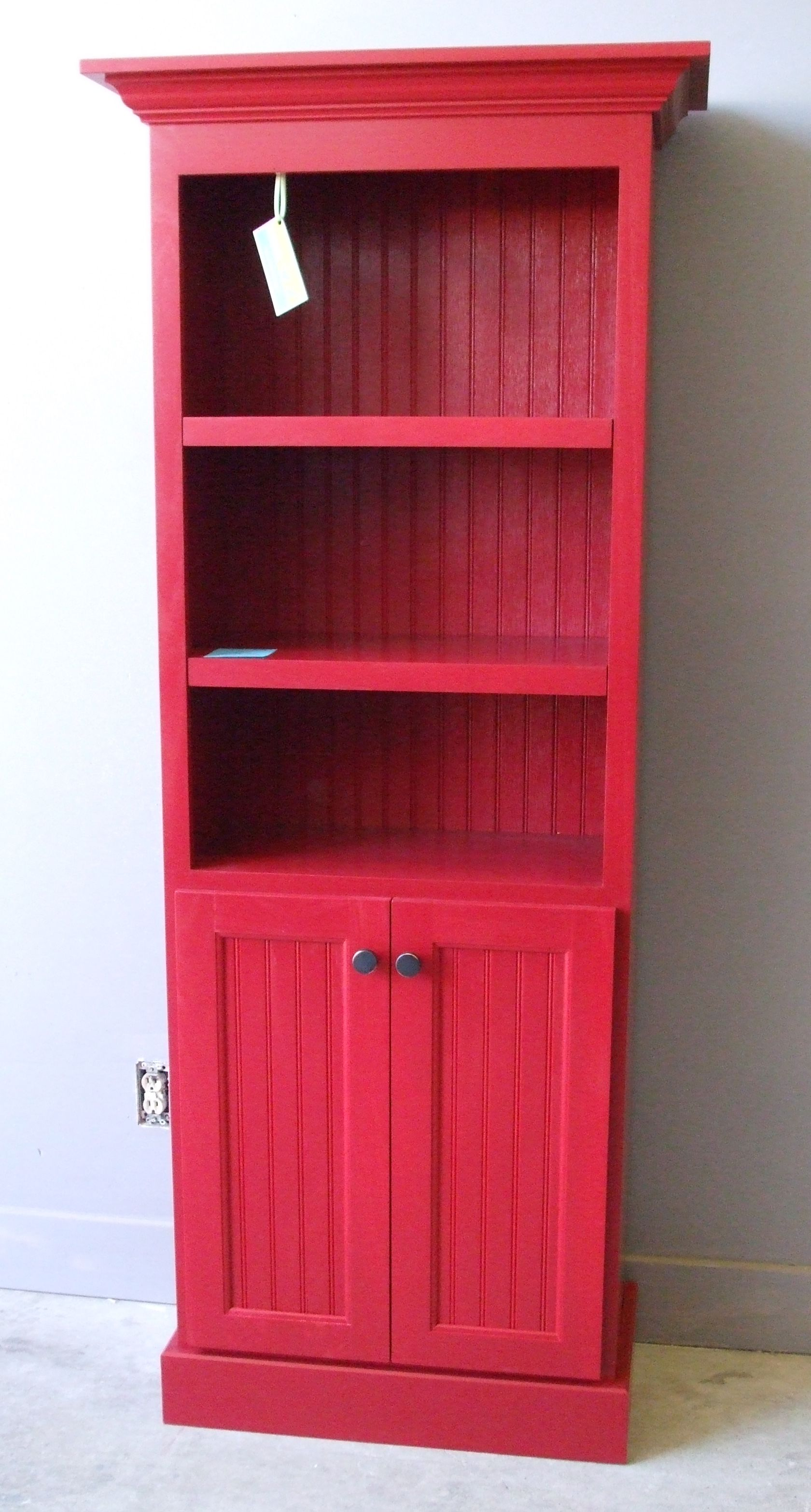 red bookcase with doors stuff i ve made or seanswoodworking
