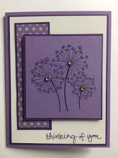 Dandelion Wishes, Sheltering Tree, Thinking of You Card