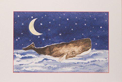 Shirley Bell Sperm Whale Christmas Cards, 10 Beach Christmas Cards