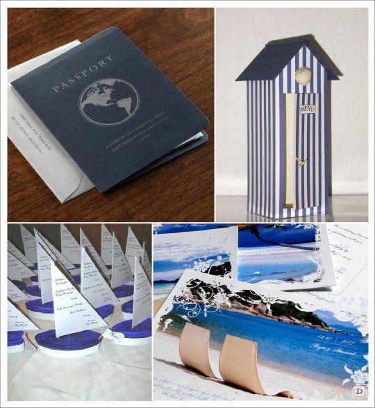 decoration mariage mer menu passeport cabine plage carte. Black Bedroom Furniture Sets. Home Design Ideas