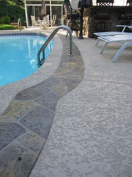 polymer based spray-on cement coating pool deck - Google ...