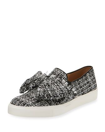 cd75c667525 Esme+Boucle+Bow+Sneaker+by+Karl+Lagerfeld+at+Neiman+Marcus+Last+Call ...