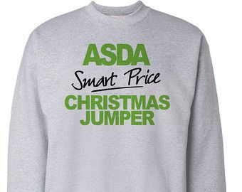 09c4e63fd Christmas Jumper Funny Gift ASDA Smart Price Xmas Sweater Mens And ...