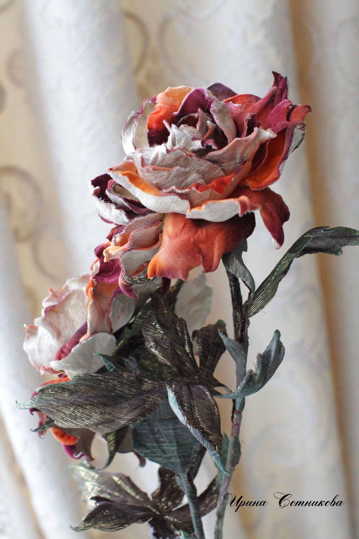 Somebana Шёлковые цветы, Тканевые цветы, Цветы